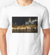 Brussels - the Magnificent Grand Place at Night Unisex T-Shirt