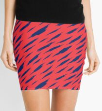 Abstract pattern Mini Skirt