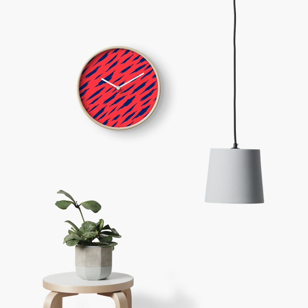Abstract pattern Clock