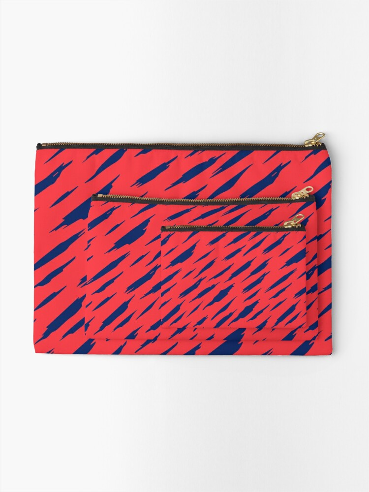 Alternate view of  Abstract pattern Zipper Pouch