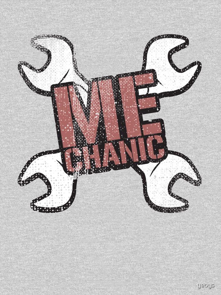 Mechanic - Mechanic Gift by yeoys