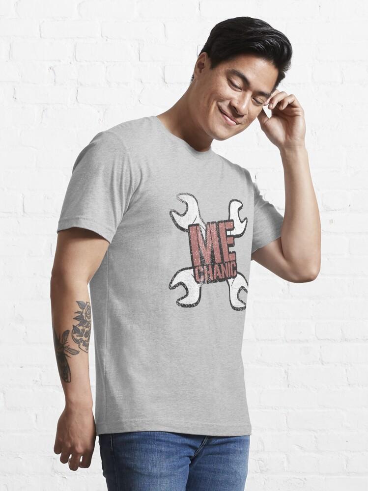 Alternate view of Mechanic - Mechanic Gift Essential T-Shirt