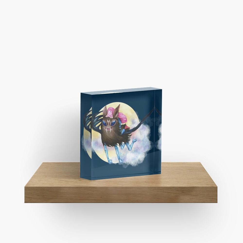 Bubbline Acrylic Block