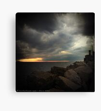 Storm Notes - Piran, Slovenia Canvas Print