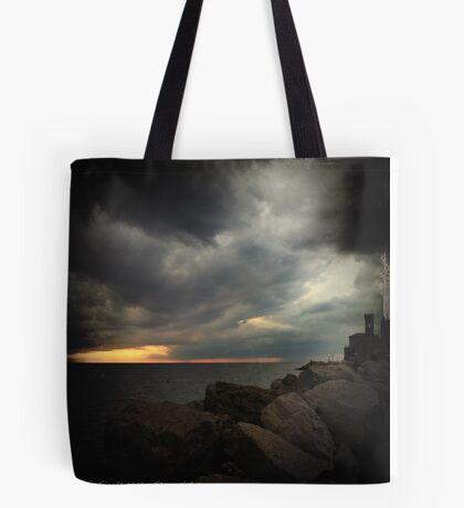Storm Notes - Piran, Slovenia Tote Bag