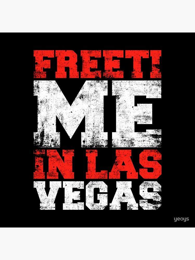 Freizeit in Las Vegas - Reise Wortspiele Geschenk von yeoys