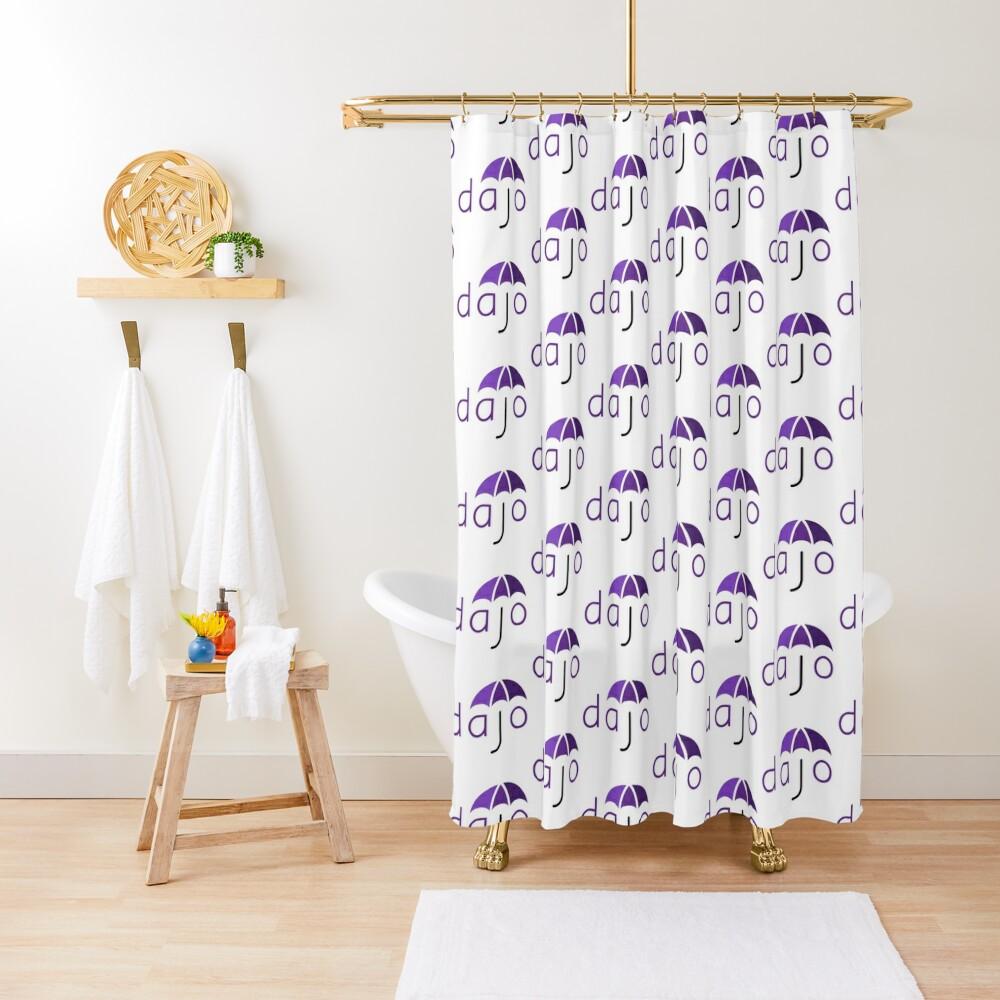 Dajo Logo Shower Curtain