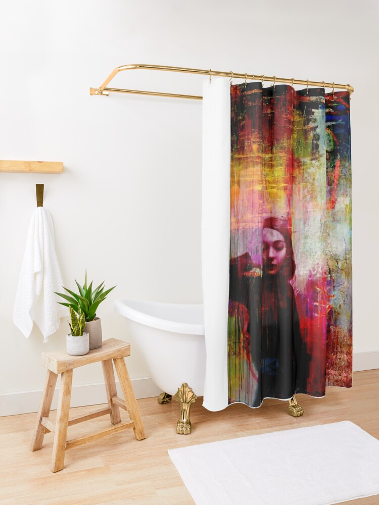 Alternate view of Done Shower Curtain