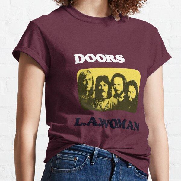 Puertas L. Una Mujer Texto Mixto Camiseta clásica
