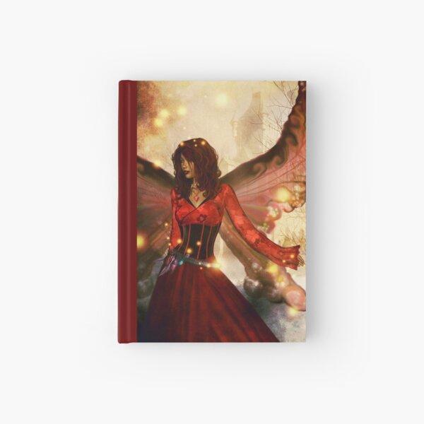 Peering into fantasy Hardcover Journal