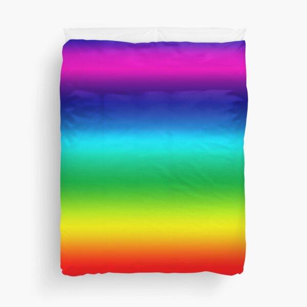 Rainbow Duvet Bedspread Duvet Cover