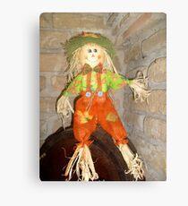 Happy puppet Canvas Print