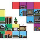 Bookshelf by AgentSmythe