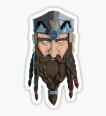 Dwarf Chieftain  Sticker