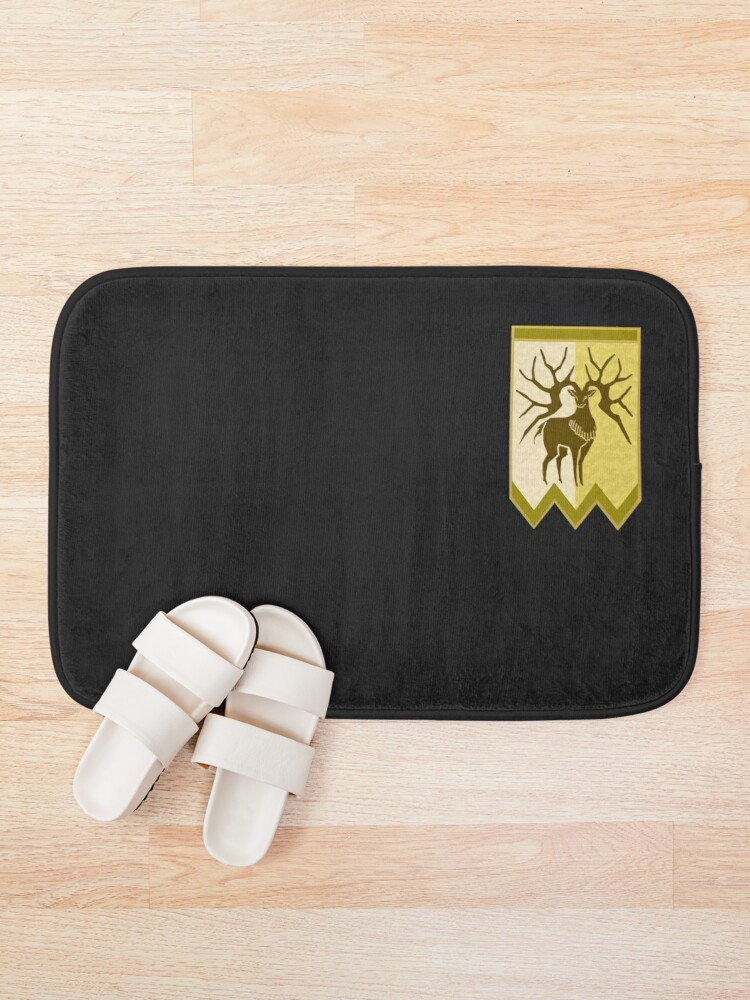 Alternate view of Golden Deer Logo - Version 2 Bath Mat