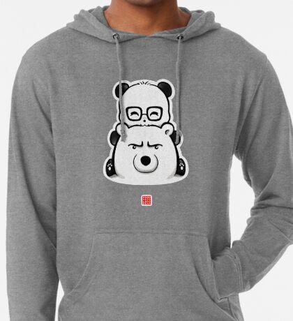 Panda And Polar Bear Lightweight Hoodie