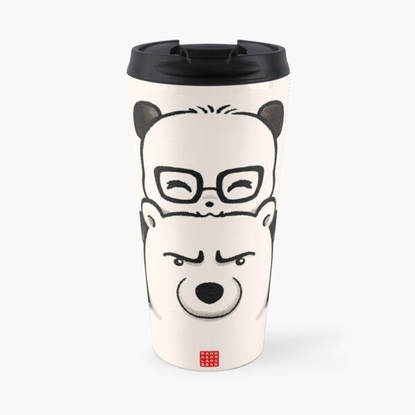 Panda And Polar Bear Travel Mug
