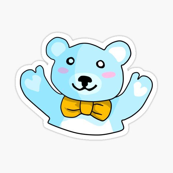 A Hug from a Teddy Bear Sticker