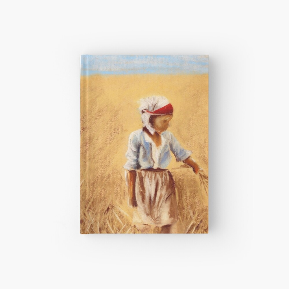 A Girl In a Field Hardcover Journal