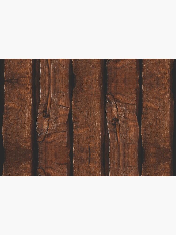 Rustic brown old wood by PLdesign