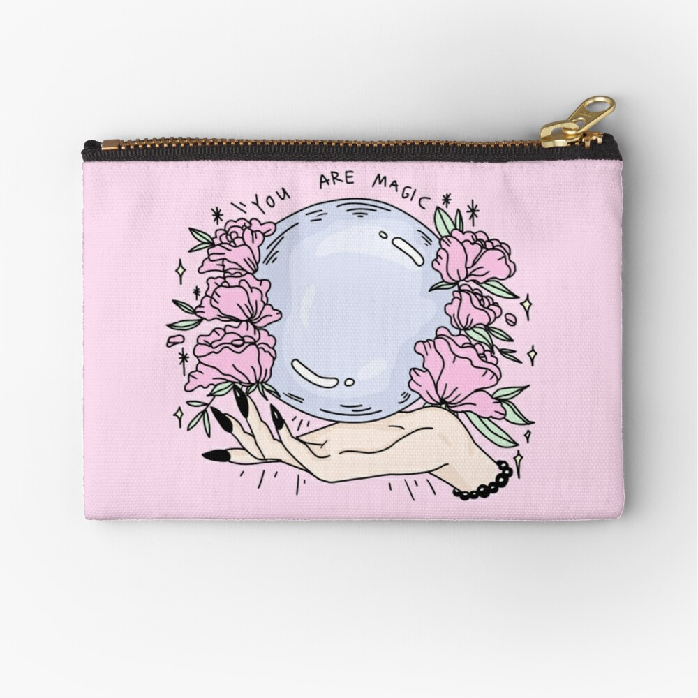 you are magic -pink- Zipper Pouch
