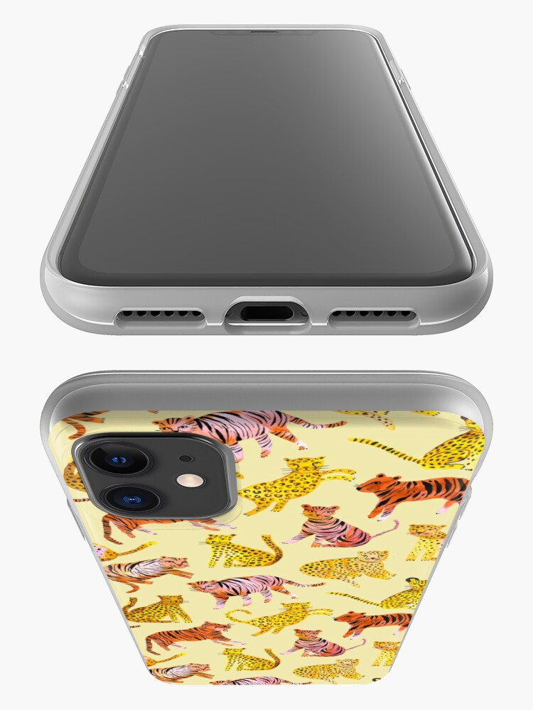 Alternate view of Tigers and Leopards Africa Savannah iPhone Case & Cover