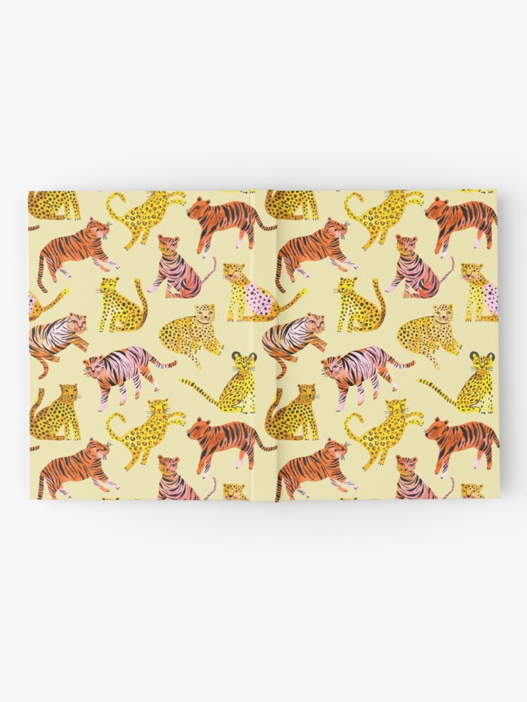 Alternate view of Tigers and Leopards Africa Savannah Hardcover Journal