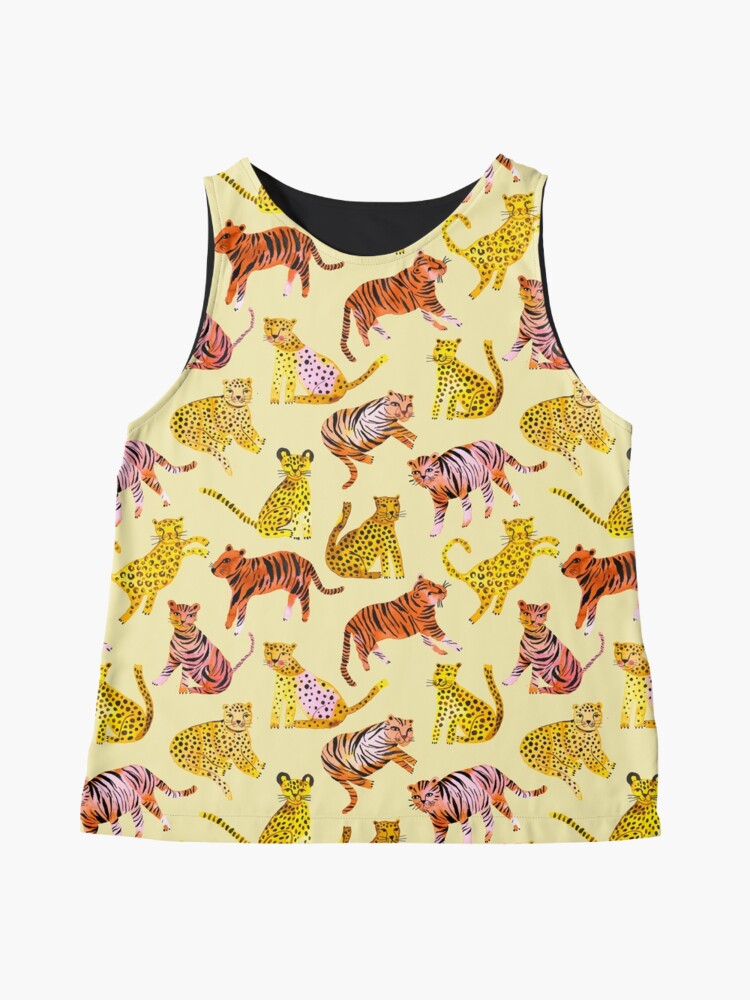 Alternate view of Tigers and Leopards Africa Savannah Sleeveless Top