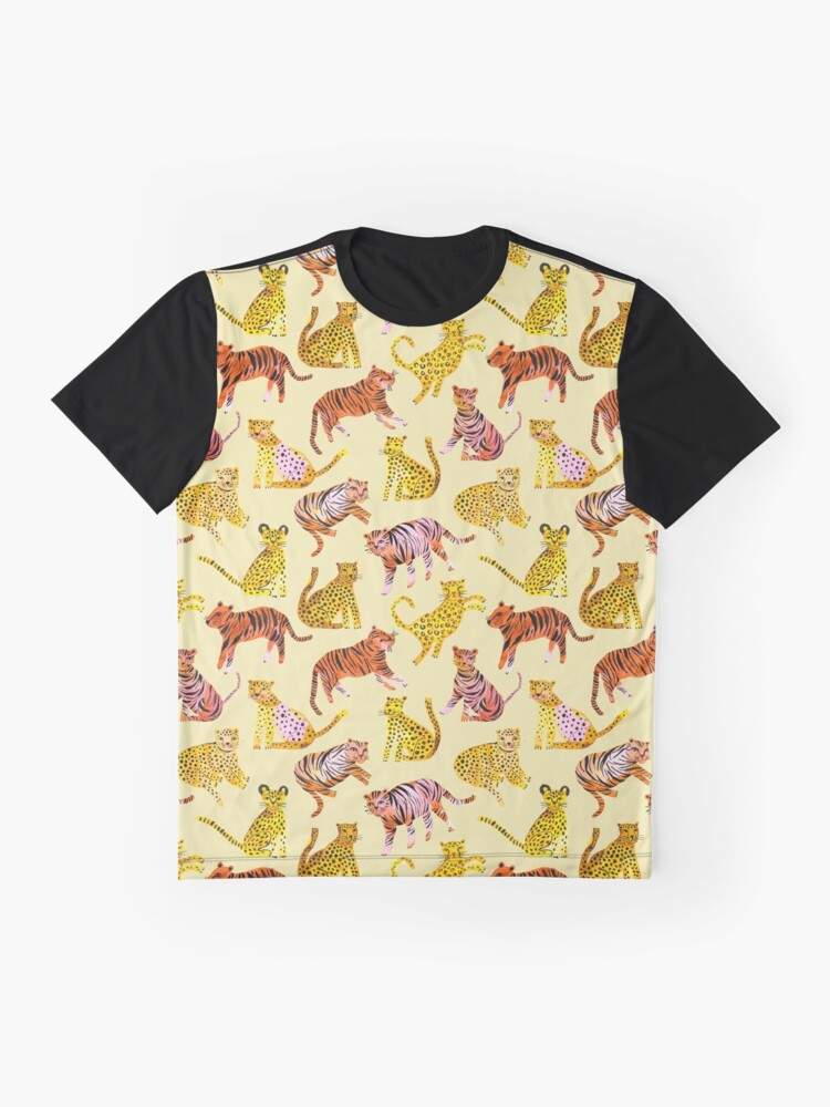 Alternate view of Tigers and Leopards Africa Savannah Graphic T-Shirt