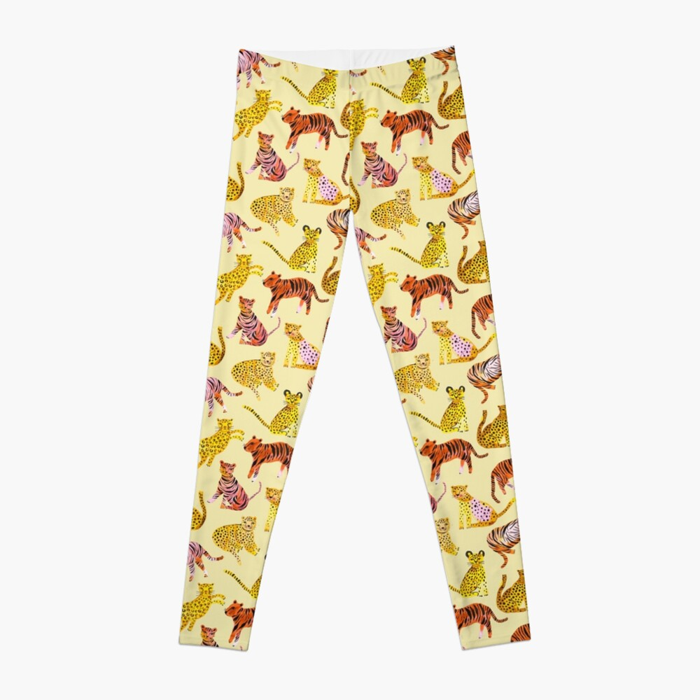Tigers and Leopards Africa Savannah Leggings