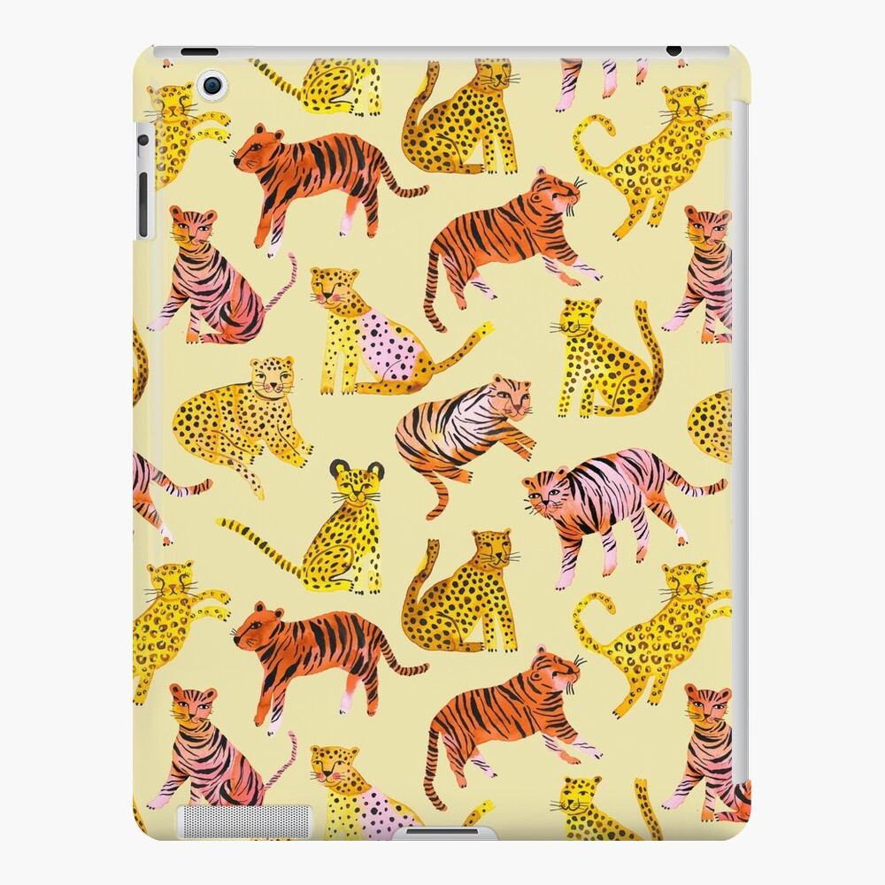 Tigers and Leopards Africa Savannah iPad Case & Skin