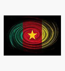 Cameroon Twirl Photographic Print