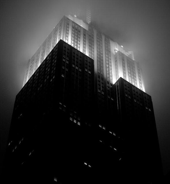 Empire State Building by night von danwa