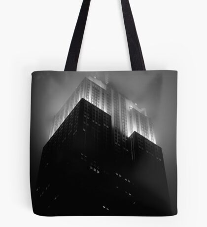 Empire State Building by night Tote Bag