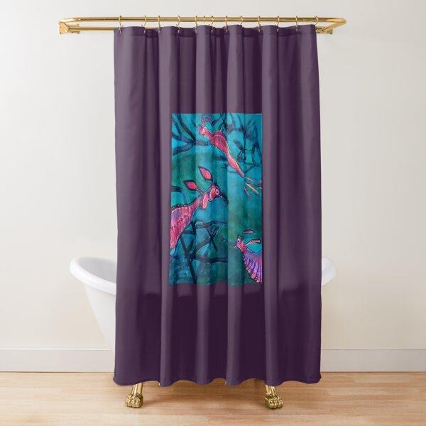 Weedy sea dragons Shower Curtain