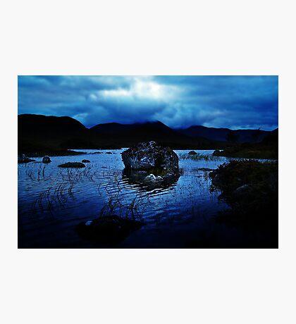 Dusk At Rannoch Moor. Photographic Print