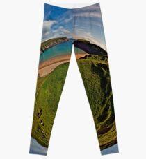 Silver Strand Beach, Malin Beg, South Donegal Leggings