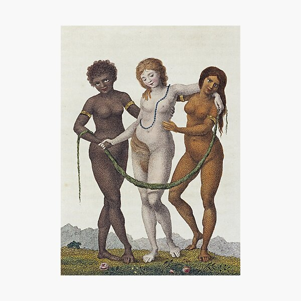 William Blake - Europe Supported By Africa And  America Photographic Print