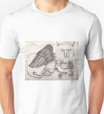 The Gryphon And His Friend pinkyjain Unisex T-Shirt