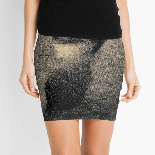 Georges Seurat - La Voilette Mini Skirt