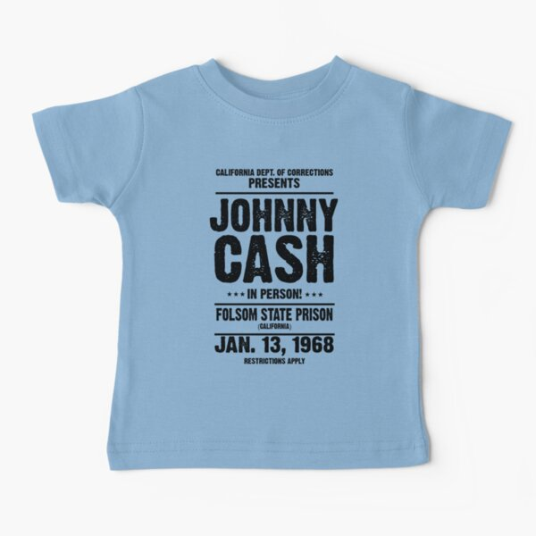 Folsom State Prison - Outlaw Country Music Baby T-Shirt
