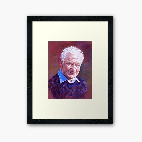 Portrait of Alan Bidstrup Framed Art Print