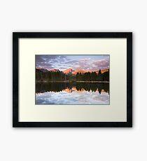 Sprague Lake Rocky Mountain National Park, Colorado Framed Print