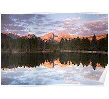 Sprague Lake Rocky Mountain National Park, Colorado Poster