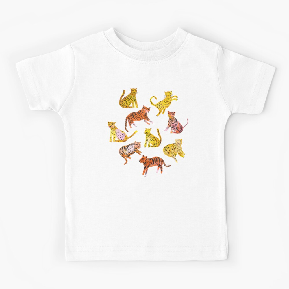Tigers and Leopards Africa Savannah Kids T-Shirt
