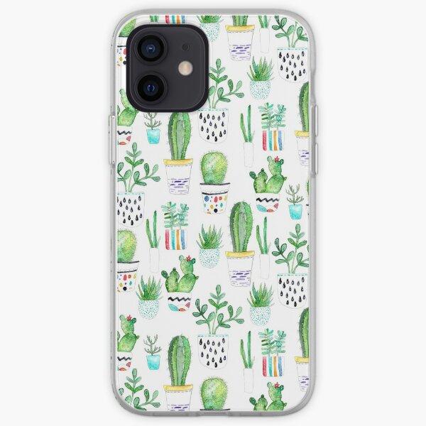 Watercolour Succulents iPhone Soft Case
