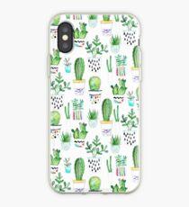 Watercolour Succulents iPhone Case