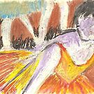 Postcard from Europe - Degas  by Gary Shaw