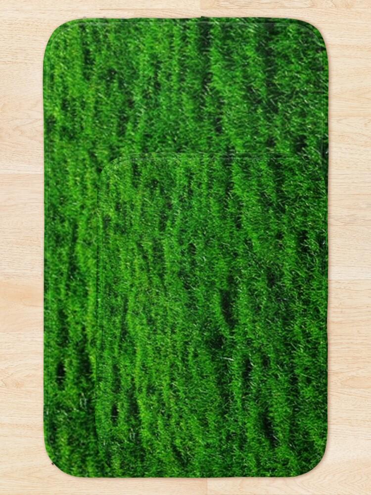 Alternate view of GREEN GREEN GRASS. LAWN. PITCH. Bath Mat
