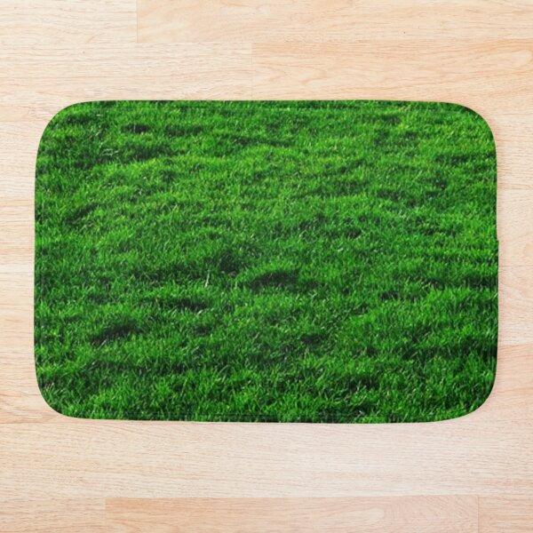 GREEN GREEN GRASS. Bath Mat